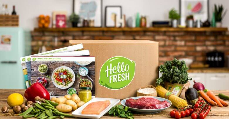 Hellofresh box à cuisiner