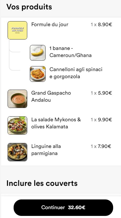 prix paniers frichti
