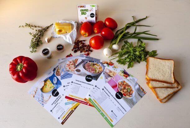 ingrédients de qualité foodette