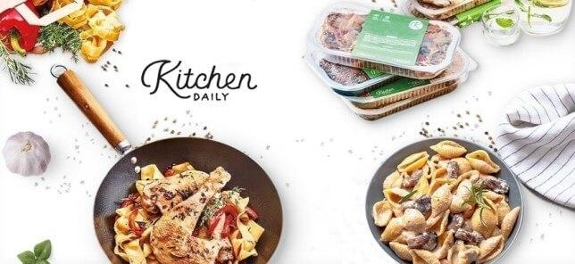 KitchenDaily des paniers repas à la maison livré chaque semaine