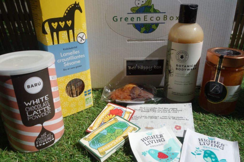 Box bio et écologie Bee Happy Box (Green Eco Box)