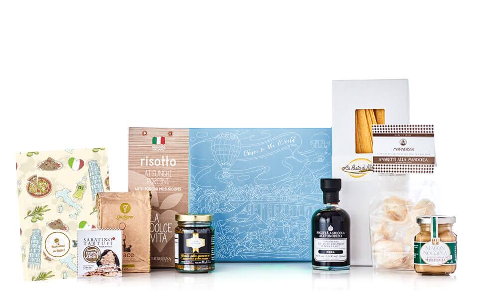 box Closer To The World 6 à 8 produits gourmets