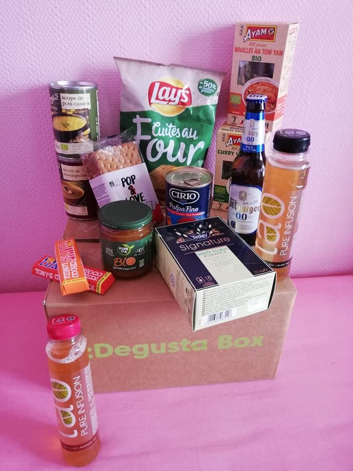Box à épicerie fine Degusta Box pour l'apéro