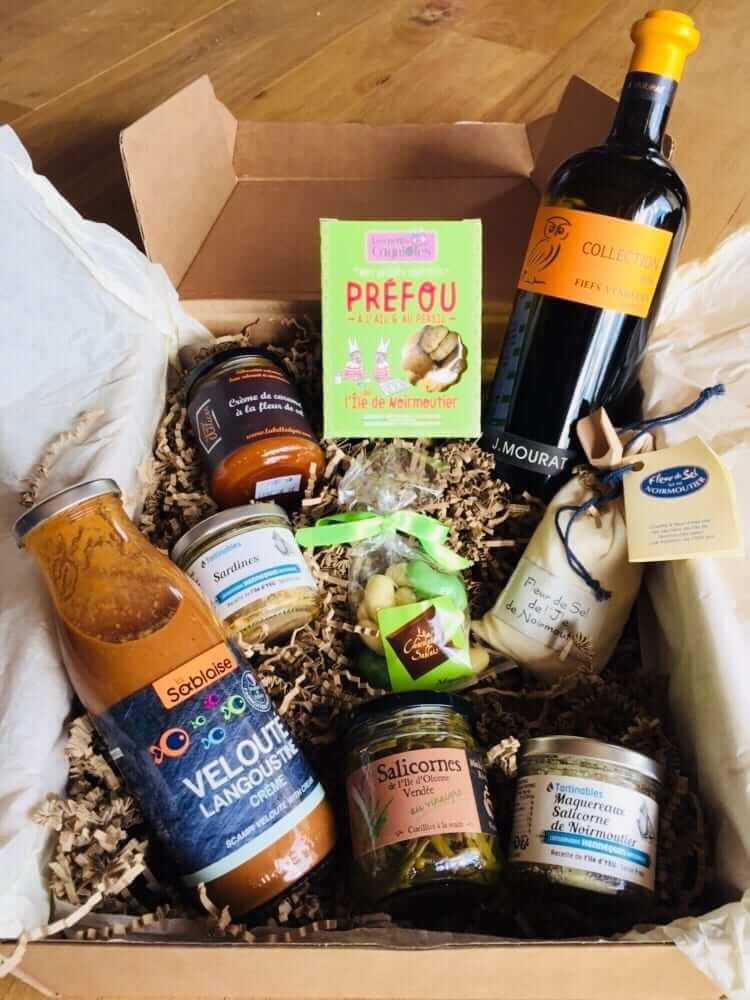 box charcuterie gourmet box